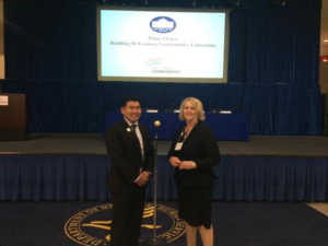 Vin & Betsy at White House