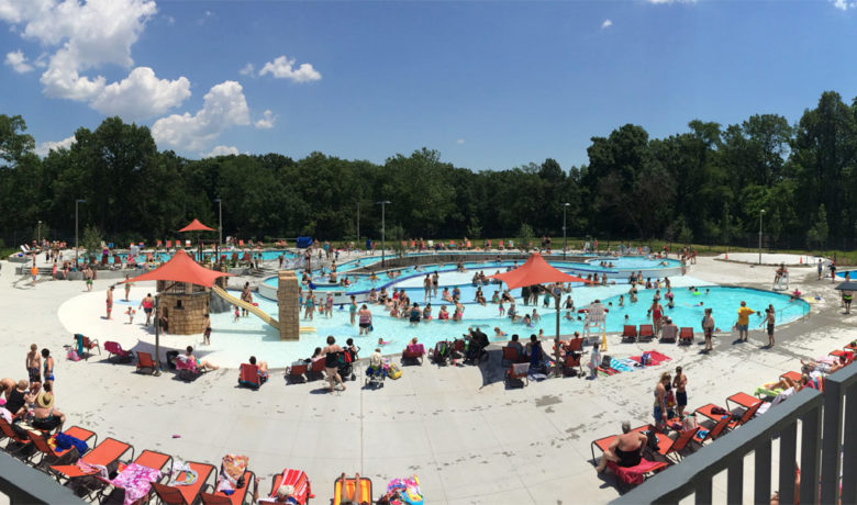 NEW POOL OPENS IN SOUTH COUNTY