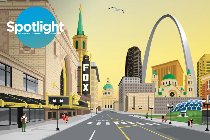 American Airlines Profiles St. Louis