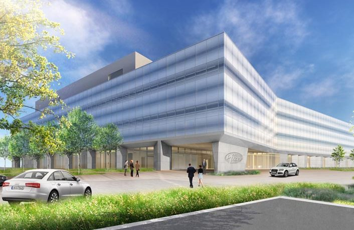 Pfizer R&D Campus Nears Completion
