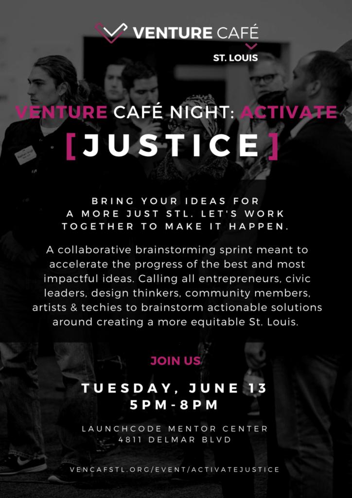 venture cafe [justice]