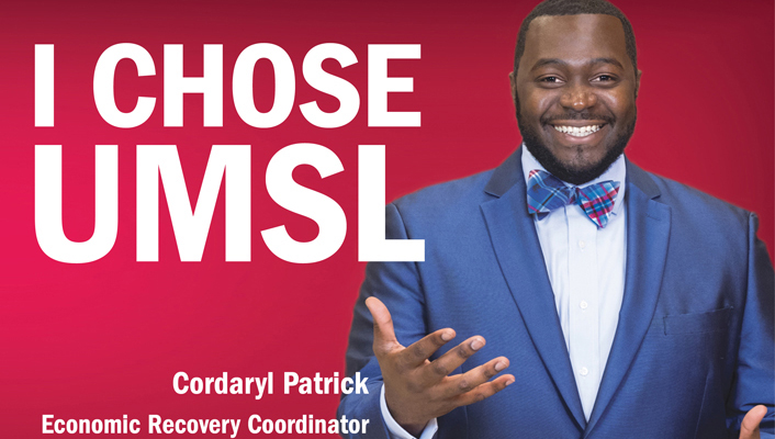 Pat Patrick Featured on UMSL Billboards