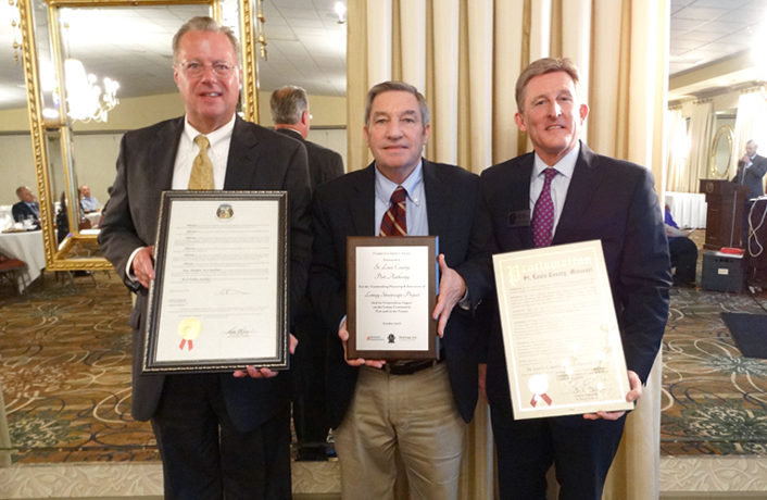 Lemay Streetscape Project Receives Honor