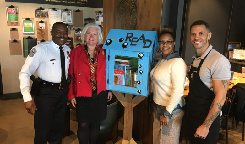 Promise Zone Community Library Box Installed in Ferguson
