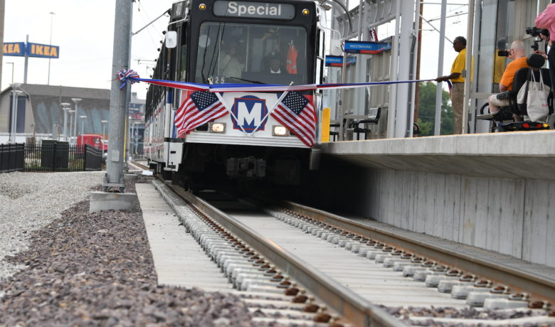 Metro Transit Opens Station at Cortex Innovation District