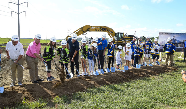 Crews Break Ground on New Youth Ice Complex