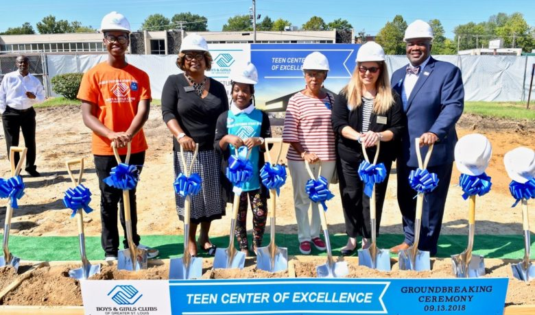 Boys & Girls Club Holds Groundbreaking In Ferguson