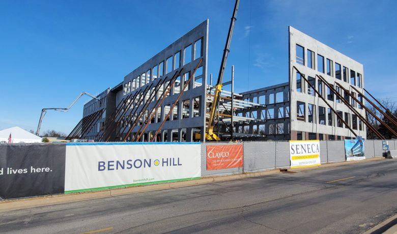 Topping Out Ceremony Celebrates Benson Hill