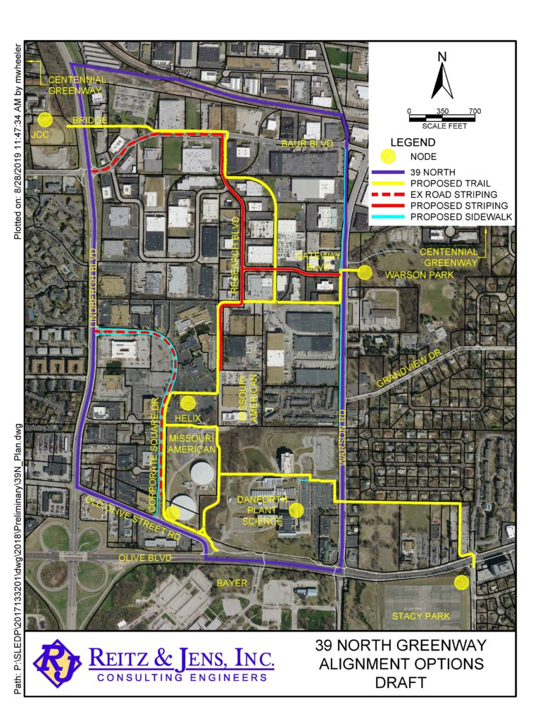 39 North Greenways Proposed Trail
