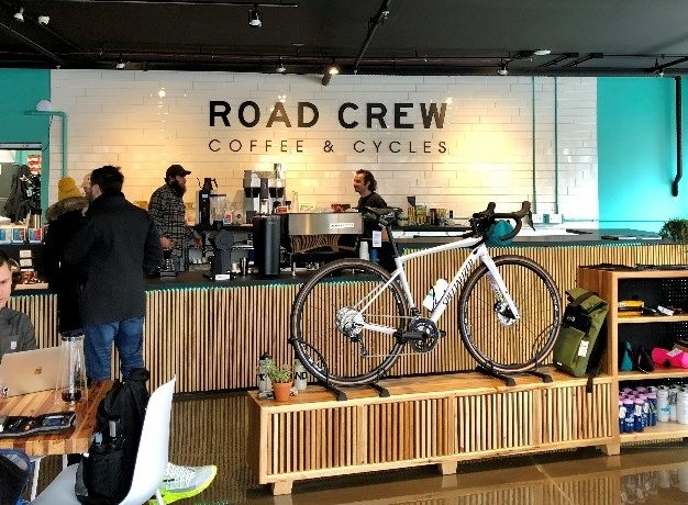 Road Crew Coffee and Cycles Receives EDA Loan from STL Partnership