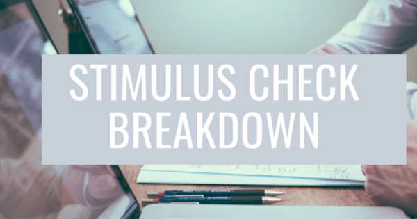 Stimulus Check Breakdown - St. Louis Economic Development ...