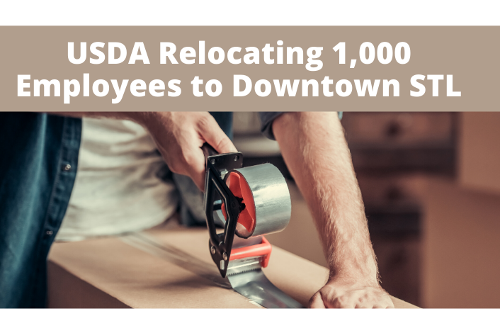 USDA relocating 1,000 employees to Downtown St. Louis.