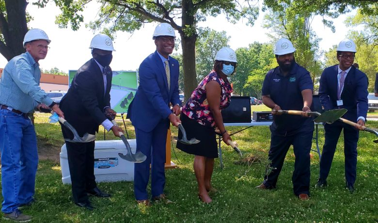 City of Dellwood Hosts Groundbreaking Ceremony for an Outdoor Skating Rink