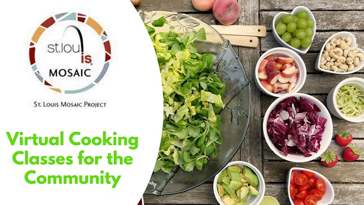 STL Mosaic Project Hosts Virtual Community Cooking Classes