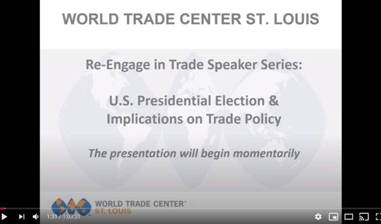 Re-Engage In Trade: Post-Election Trade Policy