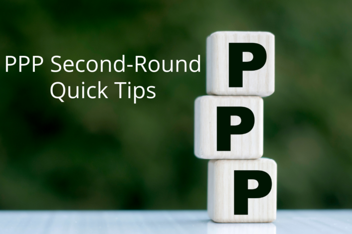 PPP Second Round Quick Tips 1