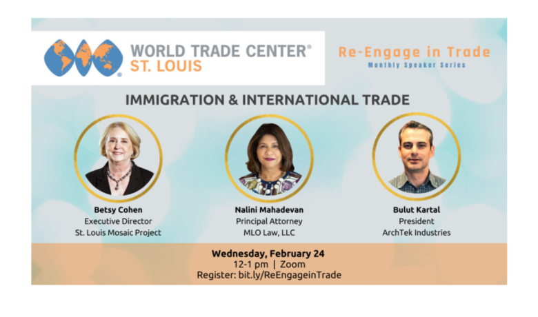 Re-Engage in Trade: Immigration & International Trade