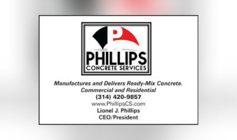 Phillips Concrete Services, Successful Business Headquartered at the Wellston Business Incubator